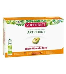 Artichaut Bio 20 ampoules de 15ml Super Diet