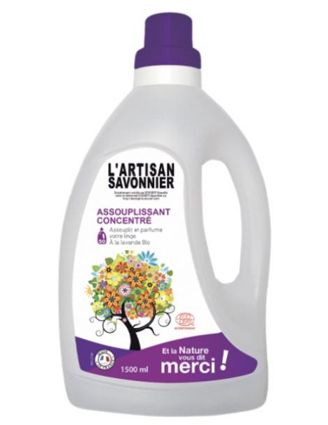 Assouplissant Concentré Lavandin  1,5L L'artisan savonnier Herboristerie de Paris