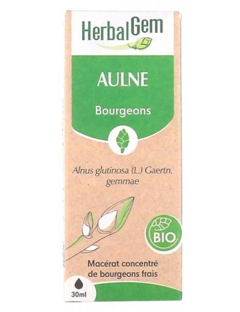 Aulne glutineux Bio Flacon compte gouttes 50ml Herbalgem Herboristerie de Paris