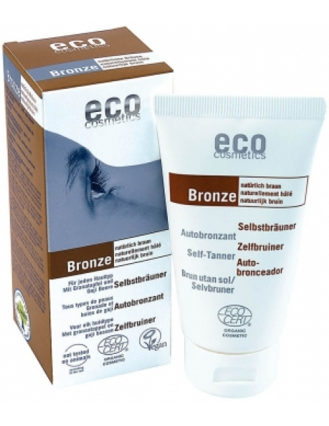 Autobronzant Grenade et Baies de Goji  75ml Eco Cosmetics Herboristerie de Paris