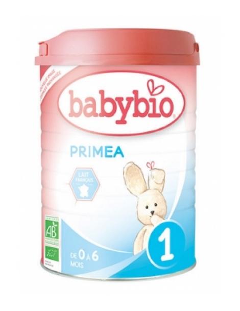 Babybio Lait Primea 1 pour nourrisson de 0 à 6 mois 900gr Babybio Herboristerie de Paris