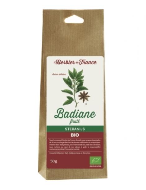 Badiane 50gr Herbier De France Herboristerie de Paris