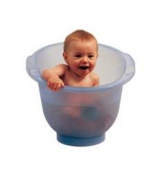 Baignoire Shantala Bleue: le bain écologique de 0 à 12 mois x1 Popolini
