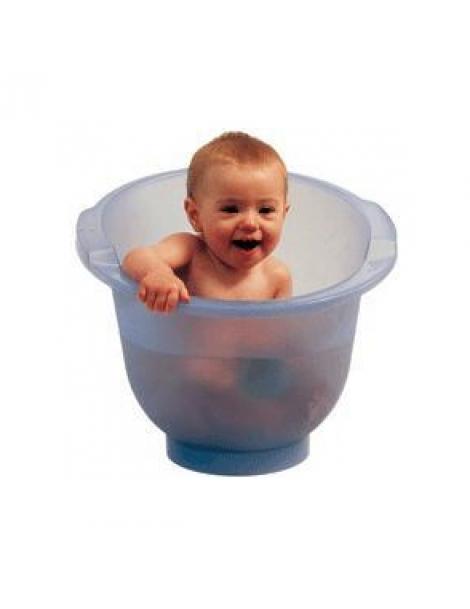 Baignoire Shantala Bleue: le bain écologique de 0 à 12 mois x1 Popolini Herboristerie de Paris