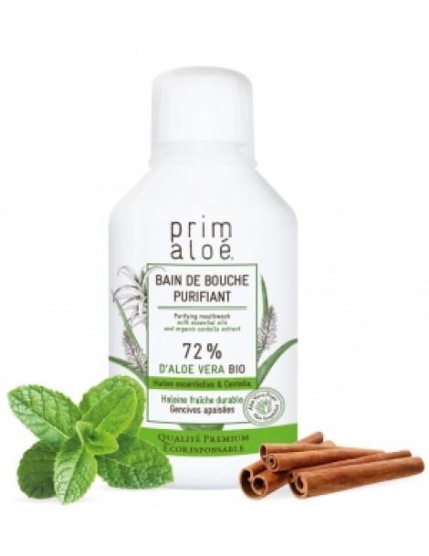 Bain de bouche purifiant 250ml Prim Aloe Herboristerie de Paris