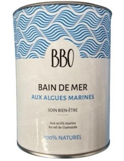Bain de mer au sel de guérande 100 pour cent naturel 800gr Bio Bretagne Ocean Herboristerie de Paris