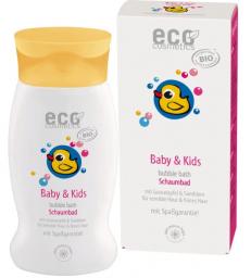 Bain moussant bébé Argousier et Grenade 200ml Eco Cosmetics