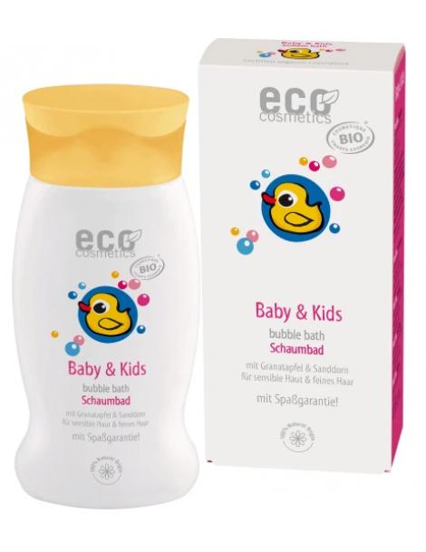 Bain moussant bébé Argousier et Grenade 200ml Eco Cosmetics Herboristerie de Paris