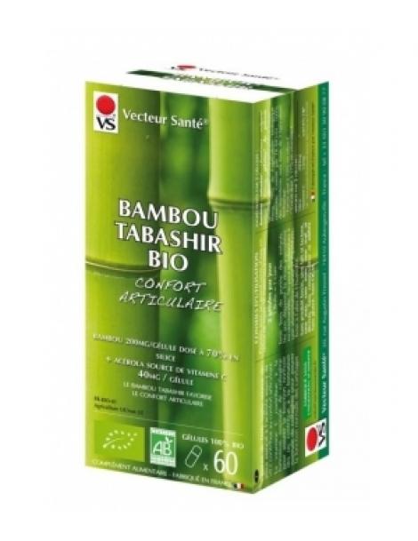 Bambou tabashir bio 120 gélules Vecteur Sante Herboristerie de Paris
