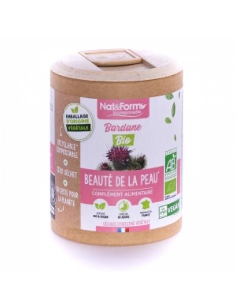 Bardane Bio 200 gélules Nat et Form Herboristerie de Paris
