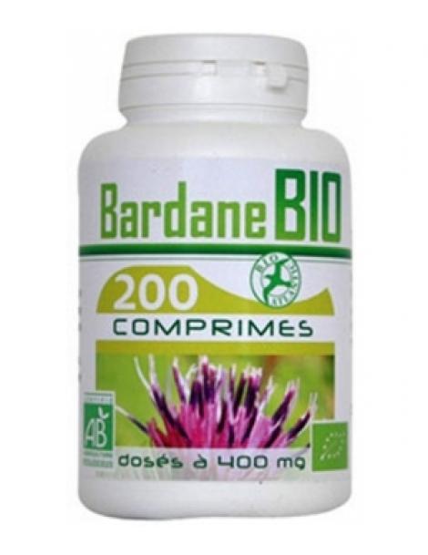 Bardane bio 400mg 200 comprimés GPH Diffusion Herboristerie de Paris