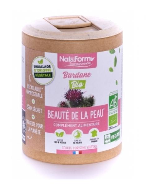 Bardane Bio 90 gélules Nat et Form Herboristerie de Paris