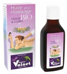 Base pour massage visage et corps 50ml Dr Valnet