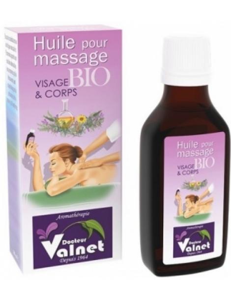 Base pour massage visage et corps 50ml Dr Valnet Herboristerie de Paris