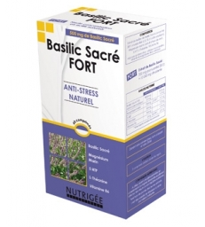 Basilic Sacré fort Anti stress naturel 30 comprimés Nutrigee