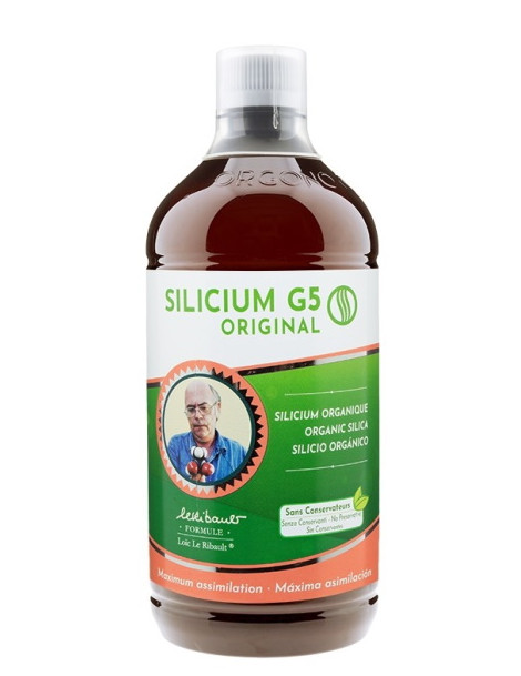Silicium G5 original liquide 1000ml Silicium Espana silice silicium articulations Herboristerie de paris