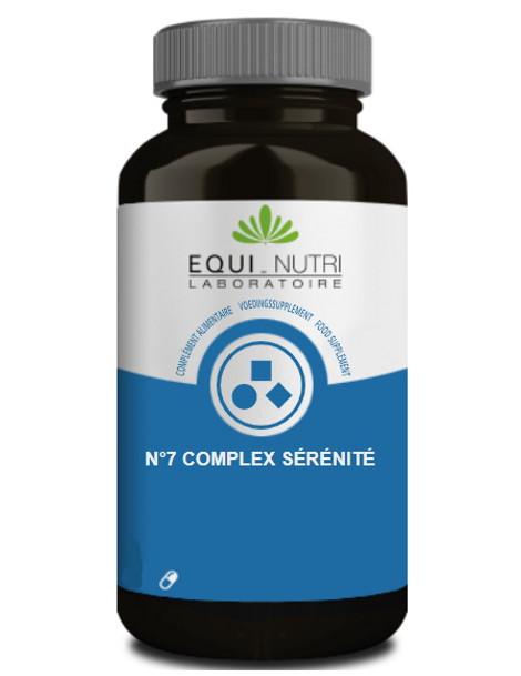 No 7 Complexe sérénité 90 gélules végétales Equi Nutri psychologique nervosité Herboristerie de paris