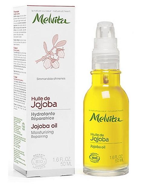 Huile de Jojoba Hydratante Réparatrice 50 ml Melvita cire protectrice cutanée Herboristerie de paris