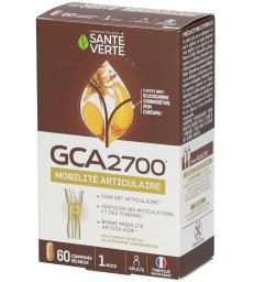 GCA 2700 Glucosamine Chondroitine 60 Comprimés Santé Verte