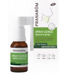 Spray gorge bio Aromaforce 15ml Pranarôm