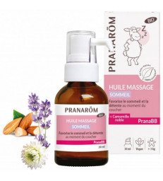 Huile de massage Sommeil bio PRANABB 30 ml Pranarôm