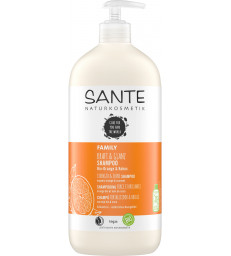 Shampoing Force et Brillance Orange Coco 950ml Sante
