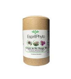 Levure de riz rouge bio 120 gélules - 4 mois de cure Esprit Phyto