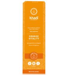 Shampooing ayurvédique Orange vitality 200ml Khadi
