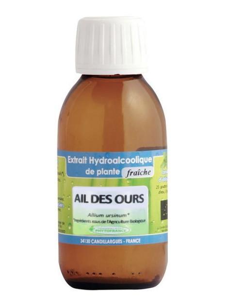 Extrait hydro alcoolique Ail des ours 125ml Phytofrance Herboristerie de paris