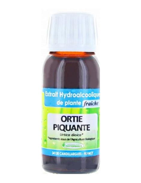 Extrait Hydro alcoolique ORTIE PIQUANTE 60ml Phytofrance Herboristerie de paris
