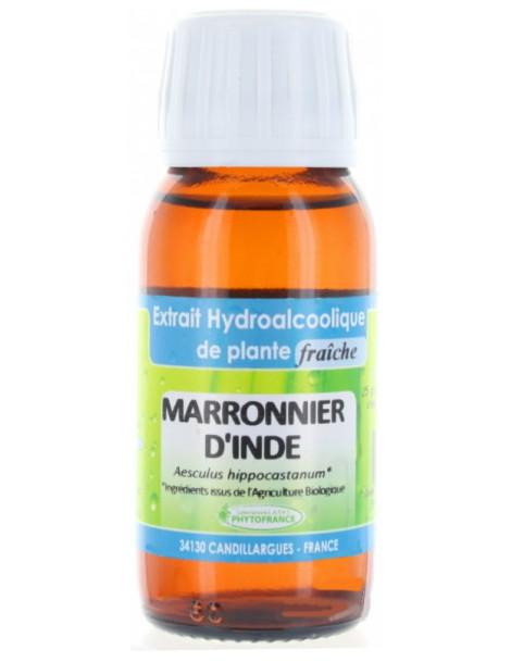 Extrait hydro alcoolique Marronnier d'Inde 60ml Phytofrance aesculus hippocastanum Herboristerie de paris