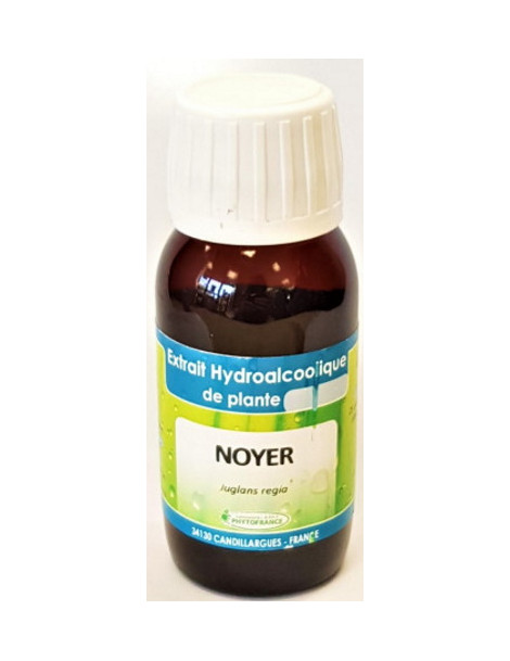 Extrait hydro alcoolique Noyer 60ml Phytofrance