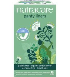 Protèges slip naturels aérés 30 unités Natracare