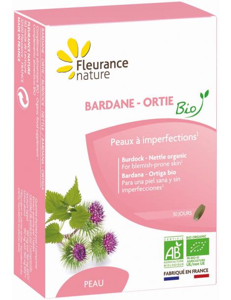 Bardane Pensée Sauvage Ortie 30 comprimés Fleurance Nature Herboristerie de Paris
