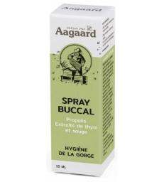 Spray buccal à la propolis Flacon verre spray buccal 15ml Aagaard
