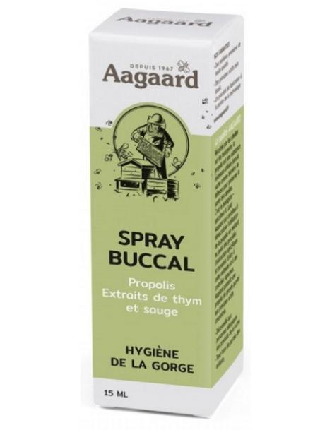 Spray buccal à la propolis Flacon verre spray buccal 15ml