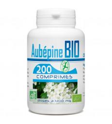 Aubépine bio 400mg 200 comprimés GPH Diffusion