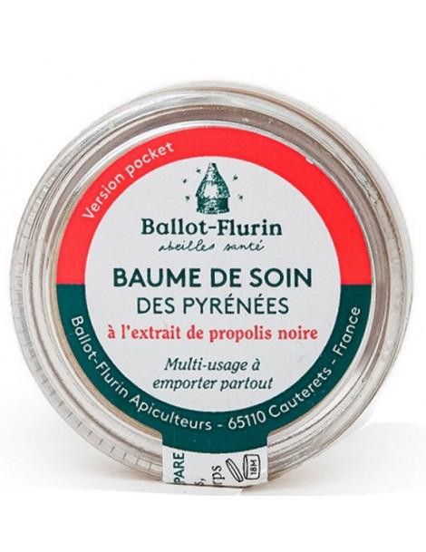 Baume de soin des Pyrénées version pocket 7ml Ballot-flurin Herboristerie de paris