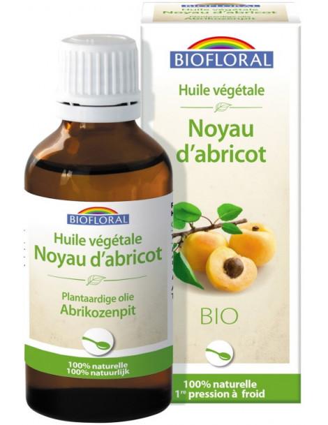 Huile végétale Bio de Noyau d'abricot 50ml Biofloral
