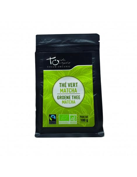 Thé vert BIO Matcha vrac 100g Touch Organic