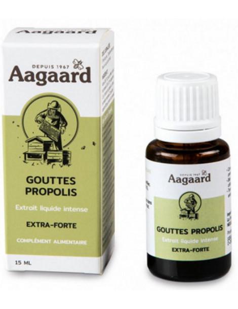 Gouttes Propolis Propolin 15 ml Aagaard immunité Herboristerie de paris