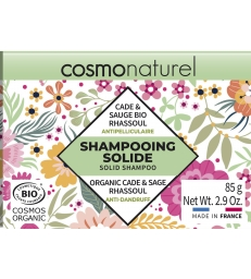 Shampoing Cheveux Antipelliculaire 85g Cosmo Naturel
