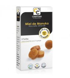 Pastilles 100% miel de Manuka UMF/IAA 10+ 8 pastilles Comptoirs et Compagnies