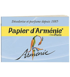 Carnet Arménie 12 feuilles Papier d'Arménie