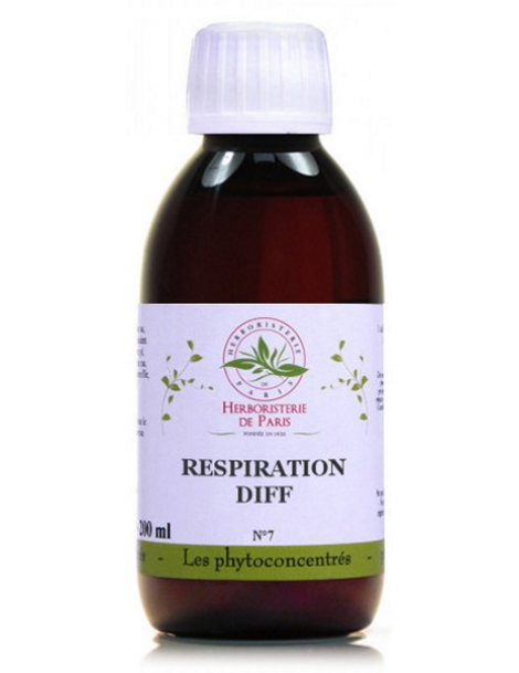 Phyto-concentré Bronches Respiration difficile 200 ml Herboristerie de Paris
