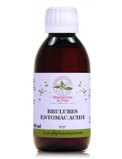 Phyto-concentré Brulures d'Estomac Acidité 200 ml Herboristerie de Paris