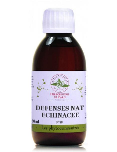 Phyto concentré Défenses Naturelles Echinacée 200 ml Herboristerie de Paris