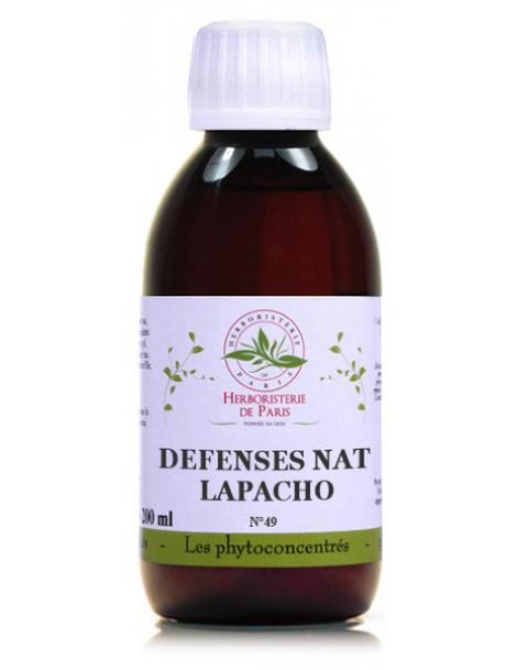 Phytoconcentré Défenses Naturelles Lapacho 200 ml Herboristerie de Paris