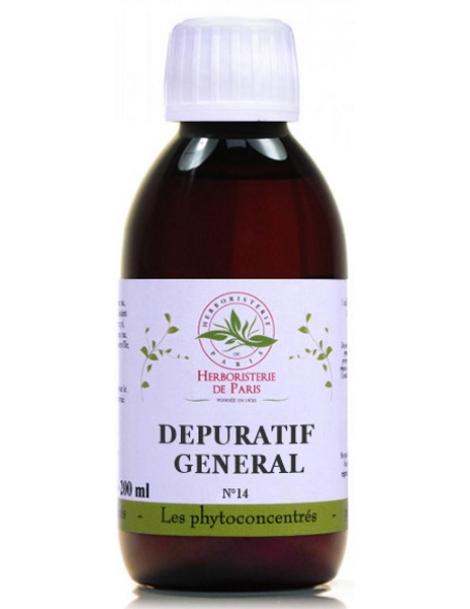 Phyto-concentré Dépuratif Général 200-ml Herboristerie de Paris