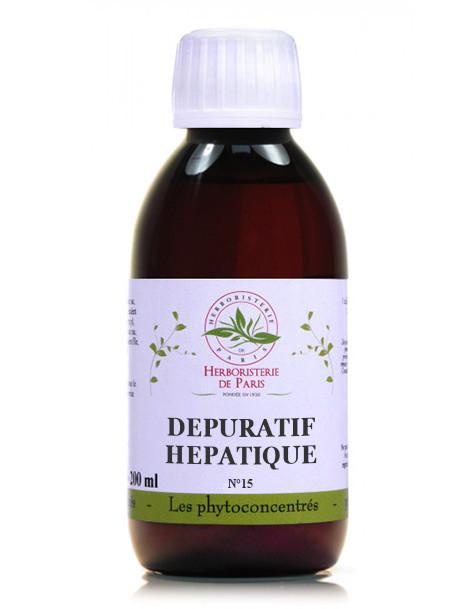 Phyto-concentré Dépuratif Hépatique 200 ml Herboristerie de Paris